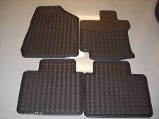2009-2012 VENZA FLOOR MATS RUBBER ALL WEATHER FACTORY GENUINE TOYOTA OEM 4PC