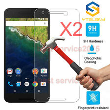 2Pcs 9H+ Premium Tempered Glass Screen Protector For Huawei Google Nexus 6P
