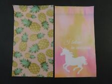 100 6x9 Pineapple Unicorn Designer Poly Mailer Shipping Envelopes Boutique Bags
