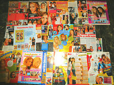OLSEN  TWINS   58  TEILE/PARTS  CLIPPINGS  LOT  0818