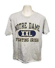 Notre Dame XXL Fighting Irish Adult Large Gray TShirt