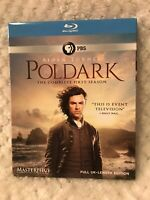 Poldark: The Complete First Season PBS Masterpiece New Blu-ray 3 Disc Set Sealed