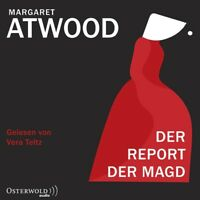 MARGARET ATWOOD: DER REPORT DER MAGD - TELTZ,VERA HÖRBUCH HAMBURG 2 MP3 CD NEW