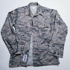 Authentic US Air Force USAF Mens Coat 38L Utility Shirt Digital Camo Ripstop