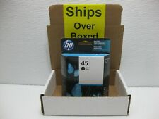 HP 45 Black Ink 51645A New Genuine ***** SHIPS OVERBOXED ***** Date: 2019