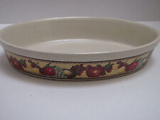Oval Casserole Ceramic Baking Dish Oven to Tableware Block Gear Portugal # 262