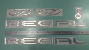 """Regal Boats Emblem 28"""" chrome + FREE FAST delivery DHL express- stickers -raisel"""