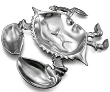 Wilton Armetale Giant Crab Dish Divided Serving Dish New