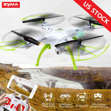 Syma X5HW FPV 4CH RC Quadcopter Drone with HD Wifi Camera Hover Function White