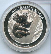 2013 Australia Koala .999 Silver 1 oz Coin $1 Dollar ounce bullion - RY120