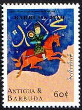 Anitgua & Barbuda 2000 MNH, Millennium, Muslims won Acre battle
