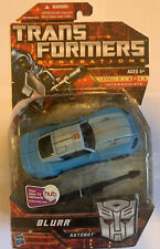 Transformers Generations Blurr Autobot Deluxe Class MISB New Hasbro Sealed 2010