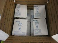 24 Incandescent 150 Watt Rough Service A21 Frost Dimmable Light Bulbs Philip New