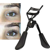 Professional Eyelash Curler Refill Pad Curling Beauty Tool Black Rubber Handles