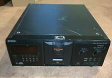 New listing Sony Cdp-Cx355 300 Disc Cd Player New Drive Belts, No Remote Tested Works Well
