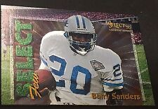 BARRY SANDERS 1995 Select Certified SELECT FEW Dufex Card SP #4 LIONS /2250 Made