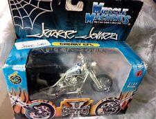 "New West Coast Choppers Jesse James ""Cherry CFL"" Bike 1:18 Scale White"