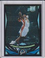 2004-05 Topps Chrome Jason Richardson Black Refractor Basketball Card #462/500