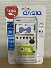 Casio Graph 90+E (Mode Examen) - Calculatrice graphique Menu PYTHON