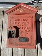 Antique Gamewell Fire Alarm Box Great Early Fire Alarm Box!!!
