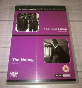 The Blue Lamp / The Nanny Jack Warner Bette Davis Genuine R2 DVD VGC
