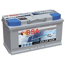 AGM Batterie 100AH 12V Solarbatterie Versorgungsbatterie Solar Boot Mover