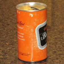 """Carlings Black Label """"Full Flavour"""" beer can, Canada"""