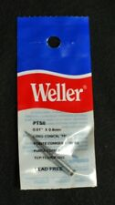"Weller PTS8 0.01"" x 0.4mm Long Conical Soldering Tip Lot of 3"