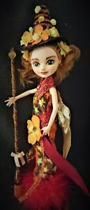 The Harvest witch an ooak monster high doll custom repaint
