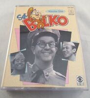 Sgt Bilko Volume One, 2 Cassette Audiobook, 4 Episodes Phil Silvers