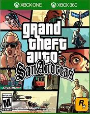 Grand Theft Auto: San Andreas (Microsoft Xbox One/ Xbox 360, 2015)
