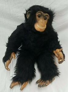 "Dean's Gwentoy Group Monkey Chimp Reg No PA180 Vintage 16"" tall Made in Britain"