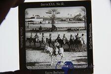 original Foto auf Glasplatte Kairo Beduinen Bedouines um 1900