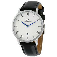 Daniel Wellington Dapper Sheffield White Dial Mens Watch 1121DW