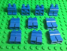 LEGO X10 Bulk Plain Blue Legs And Hip / Mini Figures Body Parts / Pants