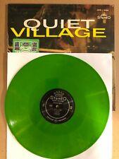 LP:  MARTIN DENNY - Quiet Village    GREEN VINYL NEW SEALED REISSUE MONO