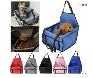 🌟SALE !!  £8.99-£4.99 Small Dog / Cat Car Pet Seat In Blue
