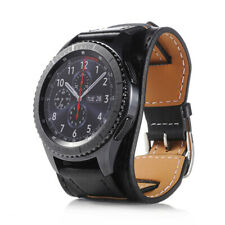 For Samsung Gear S3 Frontier Smart Watch 22mm Black Wrist Band Replacement Strap