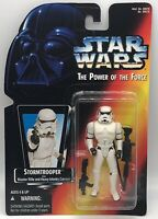 Star Wars Power of the Force Stormtrooper Red Card MOC POTF 1995 KENNER