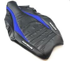 FourWerx Honda TRX450R Wave Seat Cover - Blue Accent