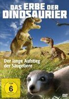 DAS ERBE DER DINOSAURIER - D.LANGE AUFSTEIG D.SÄUGETIERE DVD DOKUMENTATION NEU