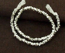 Karen Hill Tribe Silver 120 Stick Beads 2.5x1.5mm.