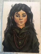 Vintage Postcard ~  Pappa Pellerins Daughter Sweden 1995