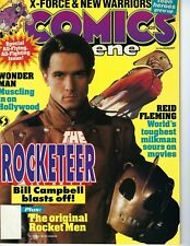 Comics -COMICS SCENE # 20-1991-The Rocketeer