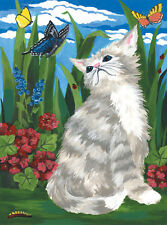 Paint by Number Kit KITTEN BUTTERFLIES