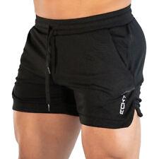 Mens Sports Shorts Gym Training Bodybuilding Running Jogging Summer Casual Pants