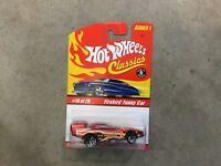 Hot Wheels Classics Series 1 spectraflame red Firebird Funny car! FREE shipping!