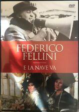 E LA NAVE VA  FEDERICO FELLINI DVD