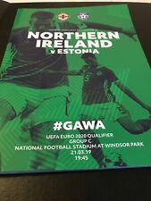 Northern Ireland V Estonia 21st March 2019 Euro 2020