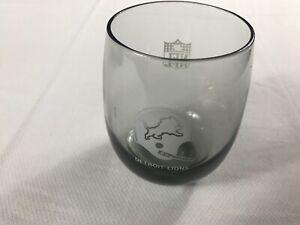 Detroit Lions Glass VTG Cup Hi Ball Smoke NFL Football Cocktail Liquor Drink